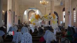 """مسيحيو ديرك يحتفلون بـ""""عيد القيامة"""" وسط إجراءات احترازية من كورونا"""