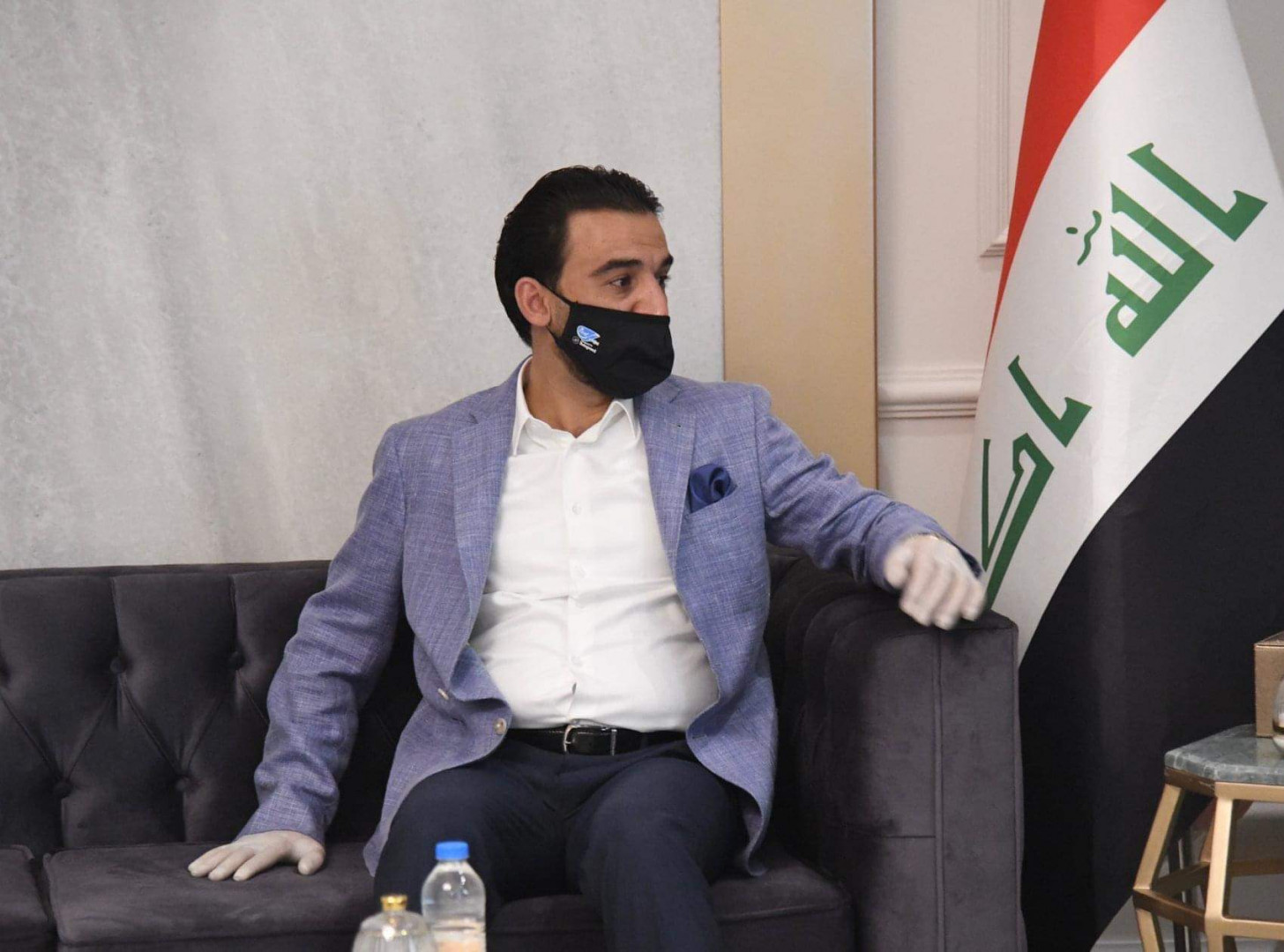 Iraqi Parliament Speaker arrives in Erbil
