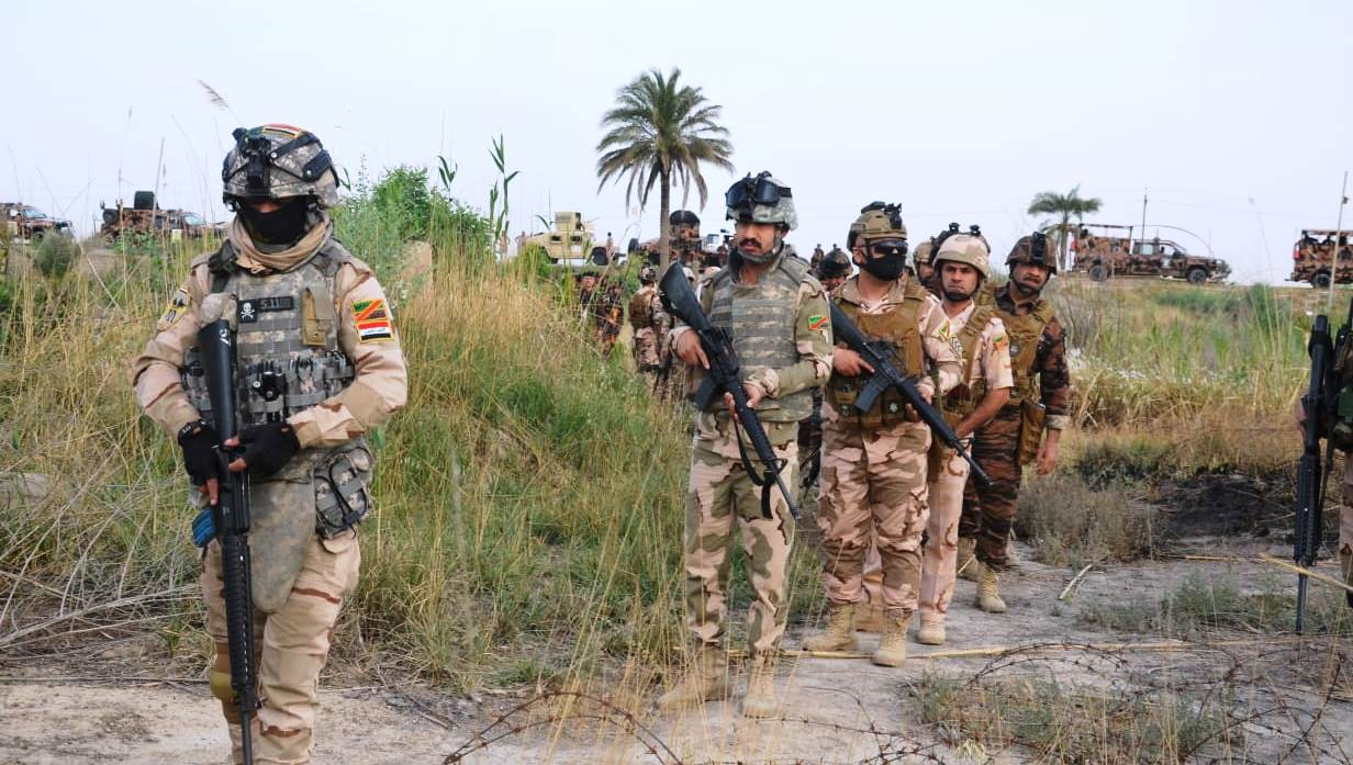 Security operations against ISIS in Diyala