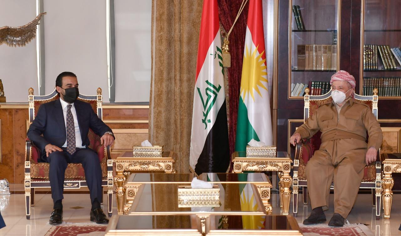 "Masoud Barzani holds ""Productive"" meeting with Muhammad al-Halboosi"