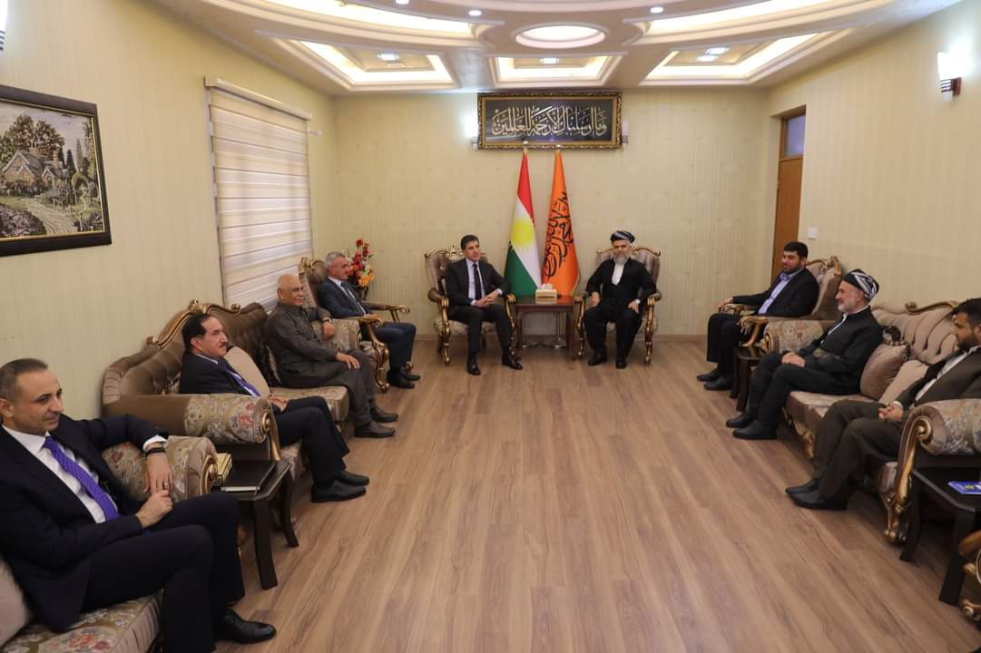 President Barzani convenes with Islamist leaderships in Kurdistan