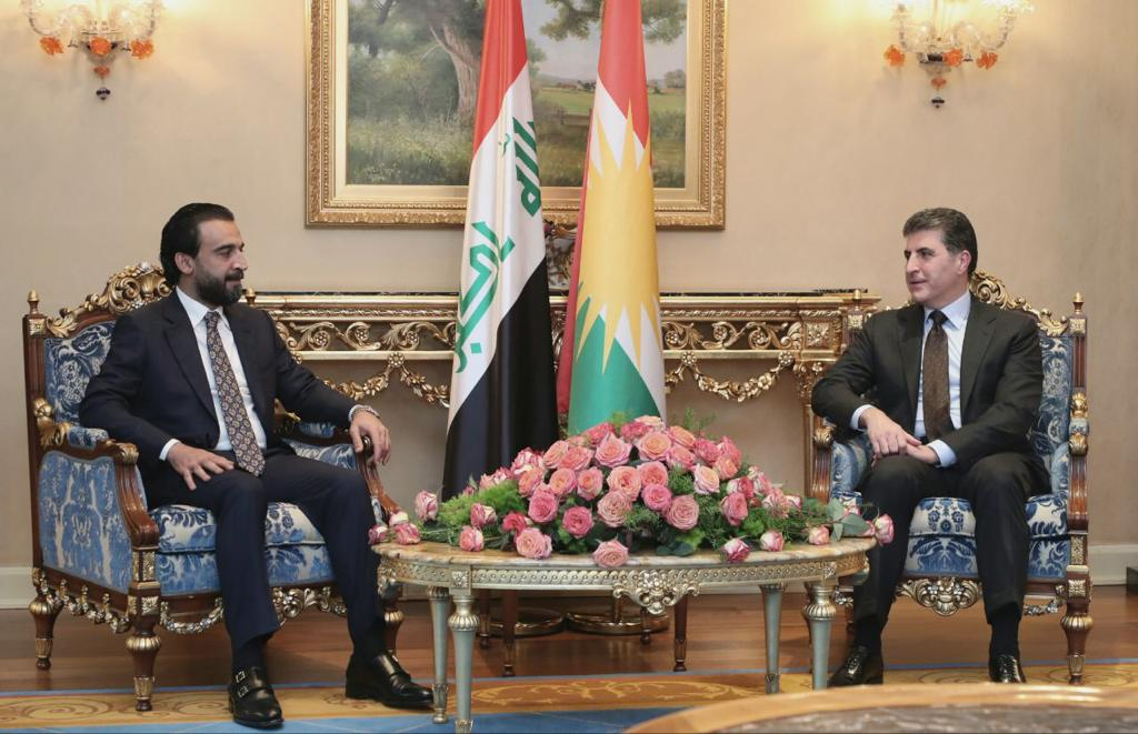 Nechirvan Barzani and Al-Halboosi: joining efforts to overcome crises