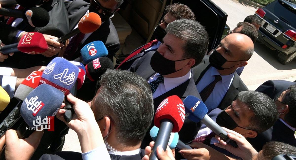 نيجيرفان بارزاني يكشف عن مساعٍ بعد الانتخابات العراقية للتحالف بين الاحزاب الكوردستانية