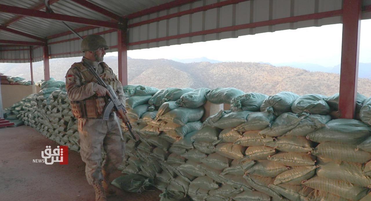 """حرس الحدود العراقي ينشئ مراكز عسكرية جديدة بإقليم كوردستان لمواجهة """"التوغل التركي"""""""