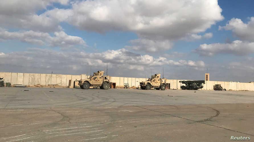 بمبارانیگ مووشەکی لەبان کامپ عەین ئەسەد لە خوەرئاوای عراق