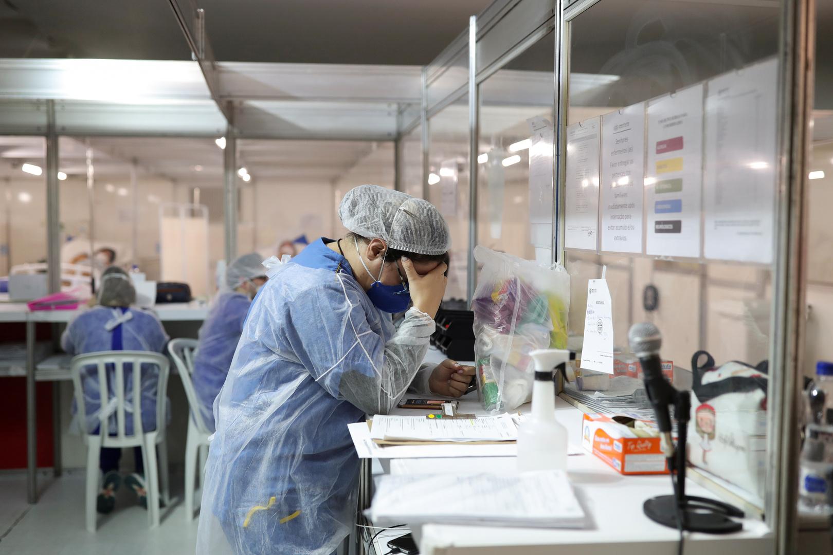 قرابة 100 الف حالة وفاة بكورونا في العالم خلال أسبوع