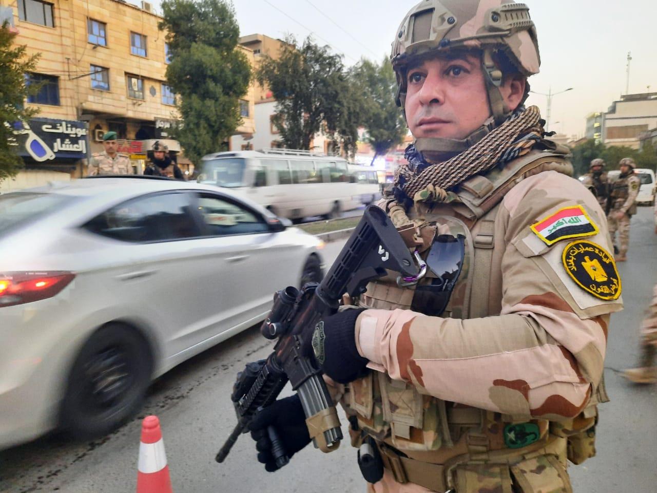 """وفق معلومات استخبارية.. عمليات بغداد تطيح بأربعة """"إرهابيين"""""""