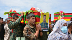 """تشييع مقاتلين اثنين من """"وحدات حماية الشعب"""" في ديرك"""