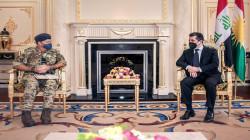 مسرور بارزاني ووفد بريطاني يؤكدان على تفعيل التنسيق الأمني المشترك لردع داعش