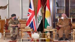 بريطانيا تأمل من مسعود بارزاني تأدية دور عراقي وكوردستاني