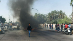 تصعيد بالتظاهرات جنوبي العراق إحتجاجاً على اغتيال الوزني