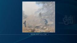 Blazes scorch 2000 dunums of pastureland in al-Sulaymaniyah