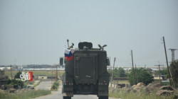 For the third time in a week.. Russian police conducts a patrol in NES