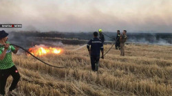 Blazes caused +5 billion dinar losses in a southern governorate
