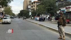 """القوات الامنية تقطع شارعاً مهماً وسط بغداد """"لأمر طارئ"""".. صور"""