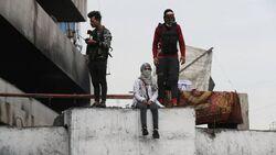 اكثر من 20 حالة اختناق بغاز مسيل للدموع على محتجين ببغداد