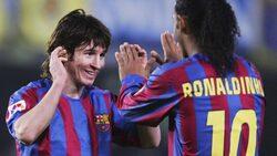 رونالدينيو: ميسي ليس أفضل لاعب في التاريخ