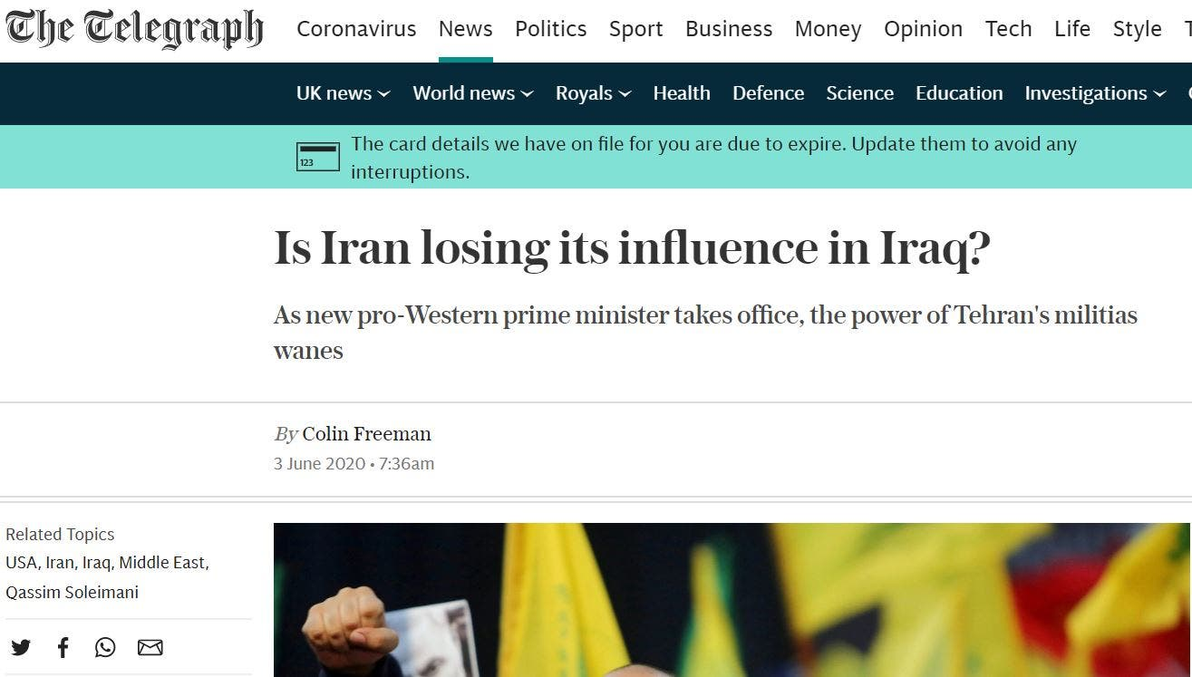 Is Iran losing its influence in Iraq?
