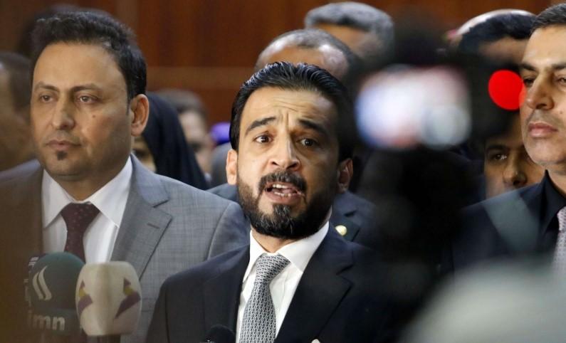 شجار بين رئيس البرلمان ونائبه الكعبي بسبب تأجيل الجلسة