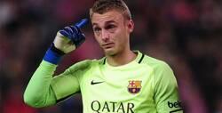 حارس برشلونة ينتقد النادي الكتالوني