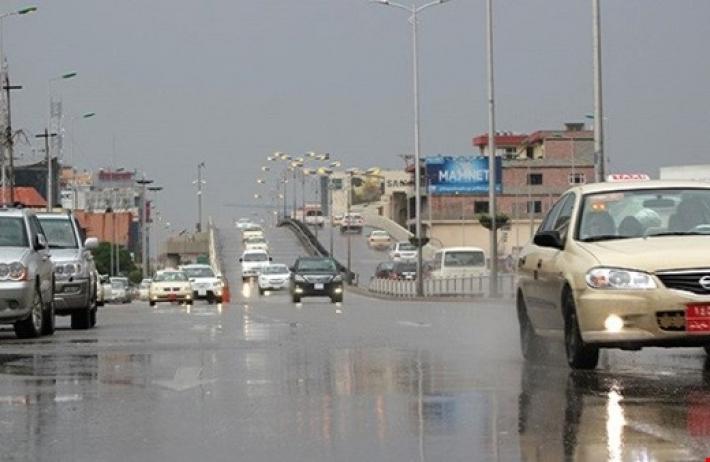 الاعلان عن كميات الامطار خلال نصف يوم بكوردستان