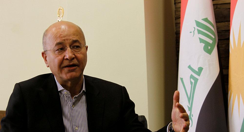 برهم صالح يعلن تسلمه ثلاثة طلبات بالكتلة الاكبر ويحيل الامر للبرلمان: ظرفنا عصيب