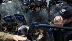 """بعد اقالة ثلاثة مسؤولين.. الشرطة التركية تعتقل 418 شخصاً """"لهم صلات بـPKK"""""""