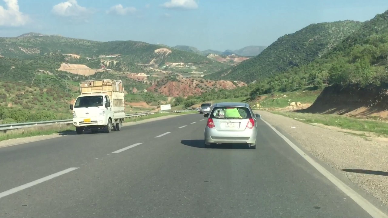 انشاء أول طريق بري دولي من أربيل الى تركيا