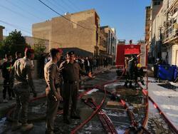 احتواء حريق بمطعم ببغداد عبر 7 فرق اطفاء