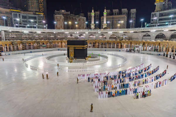 """اقامة صلاة العيد في """"الحرمين"""" غداً دون مصلين"""