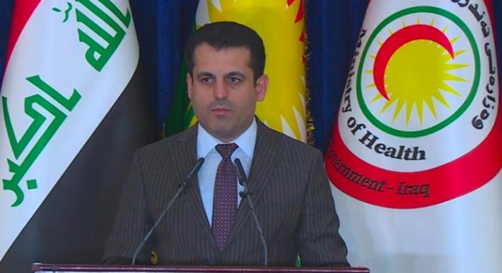 وزارة صحة اقليم كوردستان تطالب بتمديد حظر التجوال