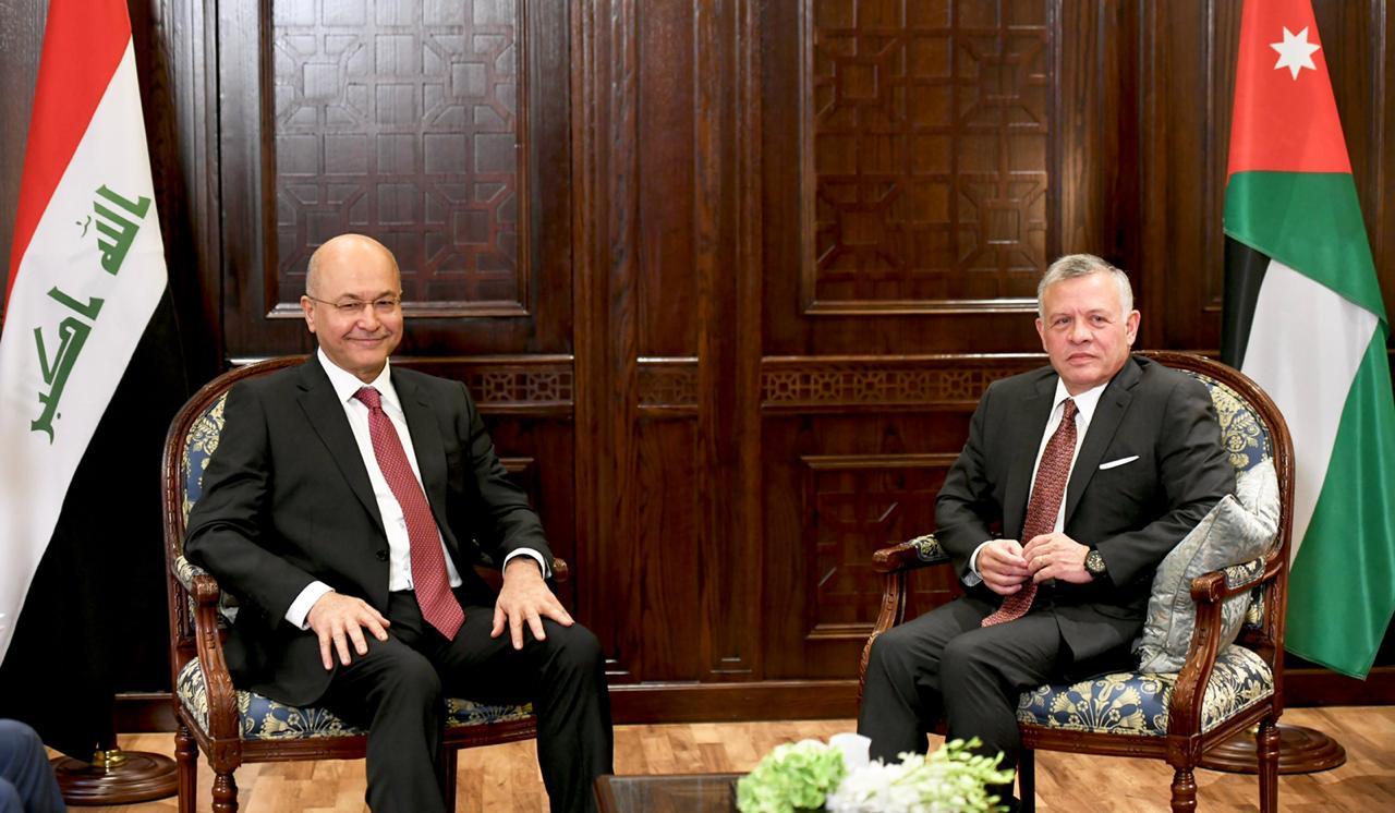 الكشف عن تفاصيل مباحثات رئيس الجمهورية والملك الاردني