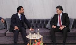 الحلبوسي يبحث مع لاهور جنكي تشكيل الحكومة العراقية