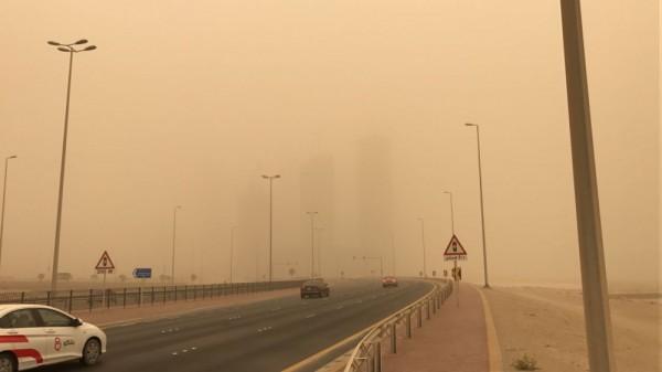 موجة من الغبار وانخفاض درجات الحرارة تجتاح اقليم كوردستان