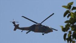 مروحيات تركية تقصف قرى في أربيل