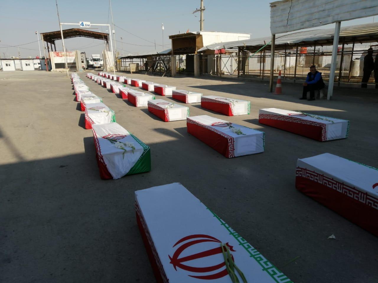 العراق يسلم ايران رفات 44 من ضحايا حرب الثمانينيات