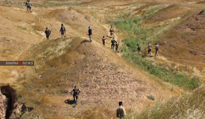 داعش يفر نحو حدود ديالى – كوردستان وتحذير من هجمات صاروخية