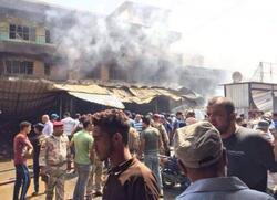 اندلاع حريق كبير شرقي بغداد