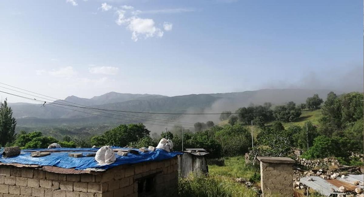 المدفعية التركية تقصف جبلين في دهوك