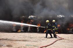 اندلاع حريق في أكبر أسواق العاصمة بغداد