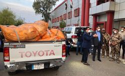 تركيا ترسل لكركوك كمامات للوقاية من فيروس كورونا