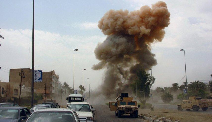 انفجار يستهدف رتلاً لإمدادات التحالف غرب بغداد