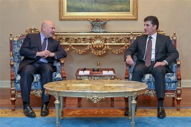 """سهرۆك ههرێم كوردستان قهوڵ """"دادگهرى"""" له دوسيهيگ گرنگ وه نهتهوهيل يهكگرتگ دا"""
