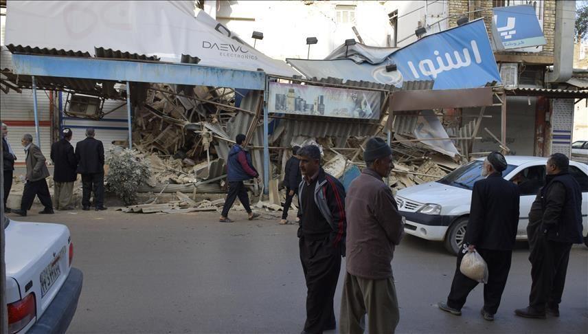 ارتفاع حصيلة زلزال إيران إلى 6 قتلى و300 مصاب