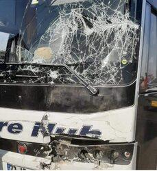 وفاة واصابة اربعة اشخاص في تصادم اربع سيارات في دهوك