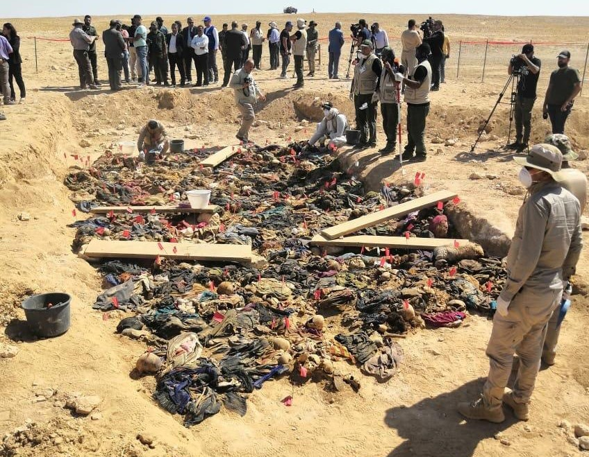 فتح مقبرة جماعية جماعية لضحايا كورد من النساء والاطفال