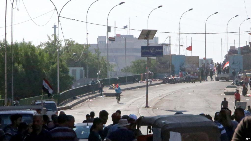 فيديو.. قطع خامس جسر في بغداد