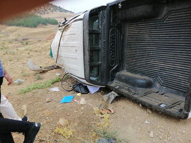 مصرع شخص واصابة 9 اخرين بحادثين في اربيل والسليمانية
