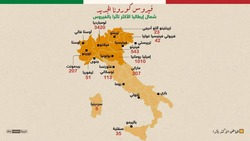 ارتفاع حاد بالوفيات.. إيطاليا الأكثر تضرراً بكورونا بعد الصين
