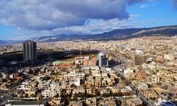 اندلاع حريق في جبل يطل على مدينة السليمانية